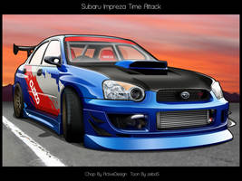 -Subaru Impreza Time Attack- by zeba5