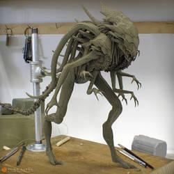 Alien Queen hybrid wip by sancient