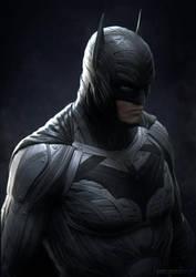 dark knight portrait by sancient