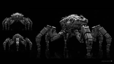 Colossus Mech 2 by sancient