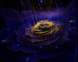 Midnight Flower by MadameLuciferi