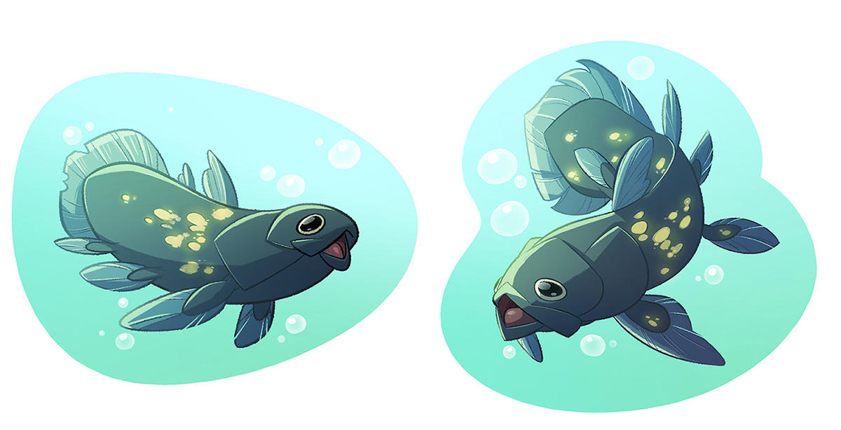 coelacanth by CoconutMilkyway