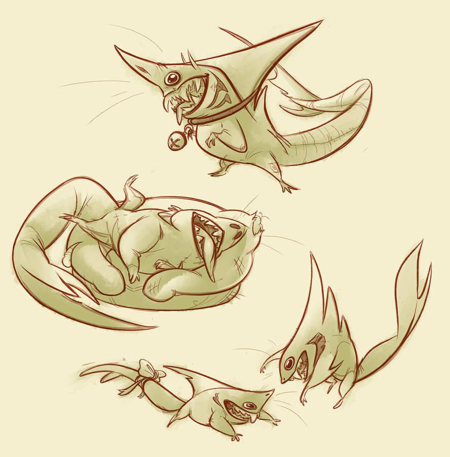 shark babins by CoconutMilkyway