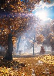 autumn again by DartP