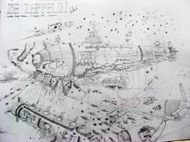 Alternate Battle of Britain by believeinsketching