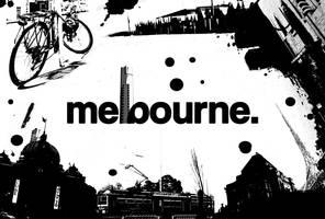 I Love Melbourne. by believeinsketching