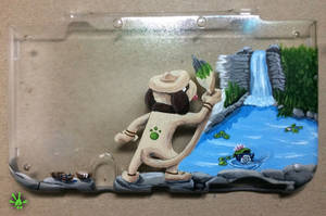 Smeargle 3ds Back Case by Haymurus