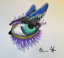 Butterfleye by Haymurus