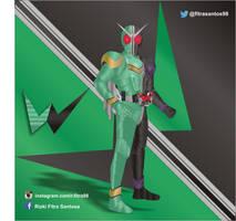 Kamen Rider W by FitraSantos