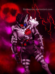 Kamen Rider Genm Dangerous Zombie Level X by FitraSantos