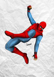 Spider-Man Homecoming Home Made Suit. by FitraSantos