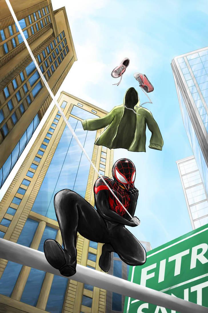 Spider-Man (Miles Morales) by FitraSantos