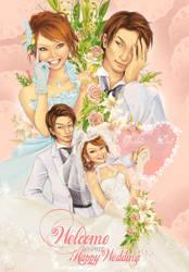 Dai and Yochans wedding board by Master-Sheron