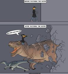 Jurassic World the Experience by Carolzilla