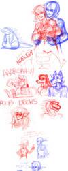 Sketch dump galore 15 by Carolzilla