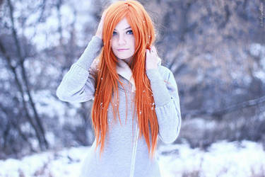 Photoshoot - Ginger winter 3 by Tanuki-Tinka-Asai