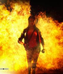 Kung Fury is a serious! by Tanuki-Tinka-Asai
