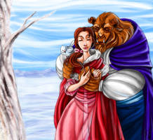 Couples: Belle and Beast by DrMistyTang
