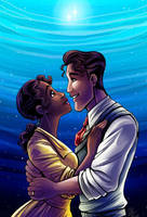 CC: Tiana and Naveen by DrMistyTang