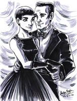 CC: Sabrina and Linus by DrMistyTang