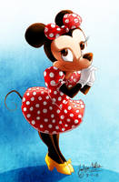 Minnie Mouse by DrMistyTang