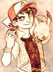 Ash or Satoshi by DrMistyTang