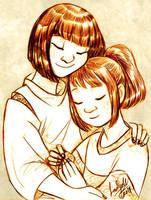 Kohaku and Chihiro by DrMistyTang