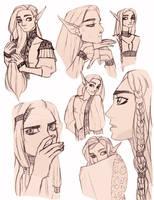 Luke Sketches by DrMistyTang