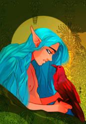Red Bird by DrMistyTang