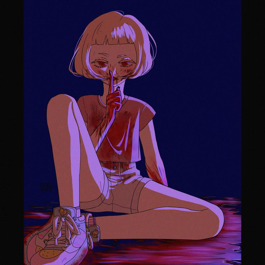 murder on a dark night by MajoNari-chan