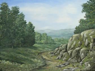 Under the rocks by JozefBalaz