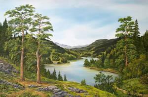 River banks by JozefBalaz