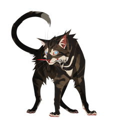 Hawkfrost [DOODLE FA] by CaptainScourge2017