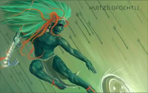 Huitzilopochtli by NatashaSolo