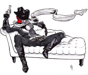 Jessie on the Couch by garanmad