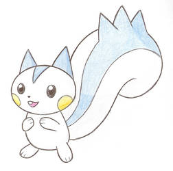 'Tis a Pachirisu by Rounded-Edge
