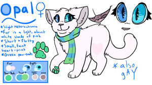 Opal Reference Sheet [2016] by OpaIescent