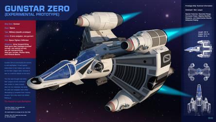 Gunstar Zero - Stat Sheet by darrenstrecker