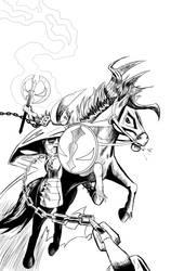 Medieval Spawn Inks by fredgerd