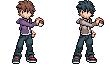 Leader Pokemon trainer sprite by Fo0xerz