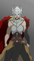 Jane Foster Thor by callm3emo