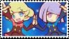 Puyo Puyo Tetris Jay And Elle stamp by malachitecat