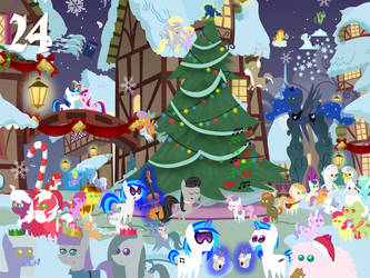2014 Advent Day 24 by bronybyexception
