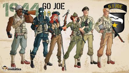 WWII G.I.Joe Walpaper by El-Mono-Cromatico