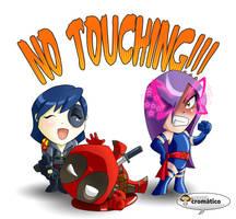 No touching by El-Mono-Cromatico