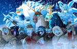The Queen beyond the Wall by El-Mono-Cromatico