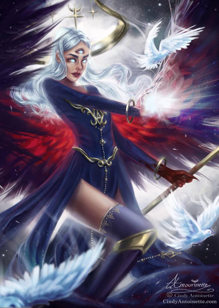 Khaivel ~ Angel of Dark Night (youtube!) by Amourinette