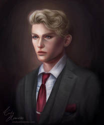 George Ross COMMISSION by Amourinette