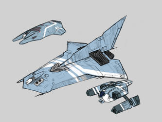 FX-21B 'Spade' by Norsehound