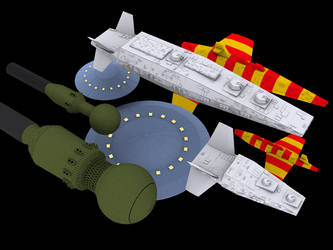 StarCruiser Ships by Norsehound